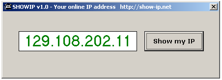 WhatisMyIPAddress download VB programm